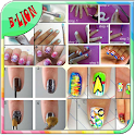 Nail Art Step By Step Design icon