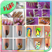 Nail Art Step By Step Design