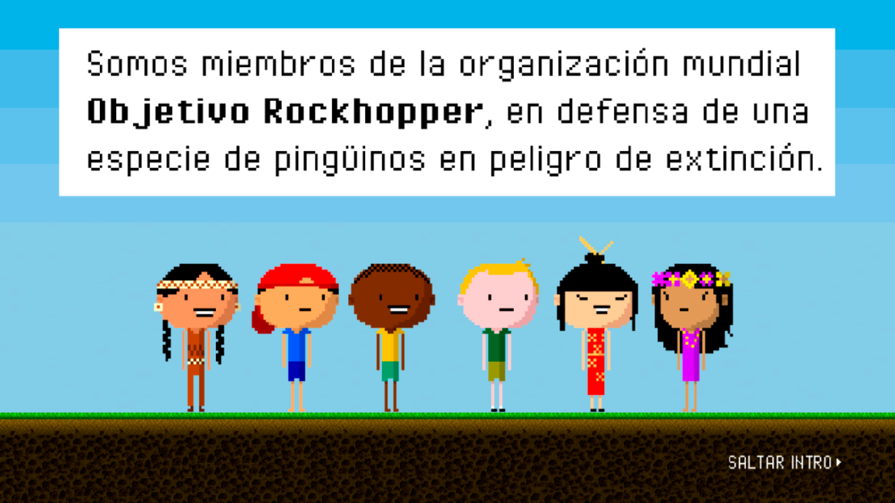 Objetivo Rockhopper- screenshot