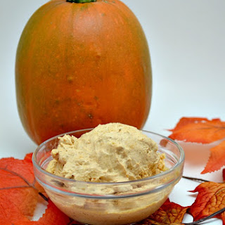 Creamy Pumpkin Ice Cream.