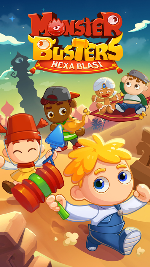 Monster Busters: Hexa Blast- screenshot
