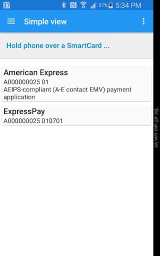 NFC Smart Card Info Apk 2