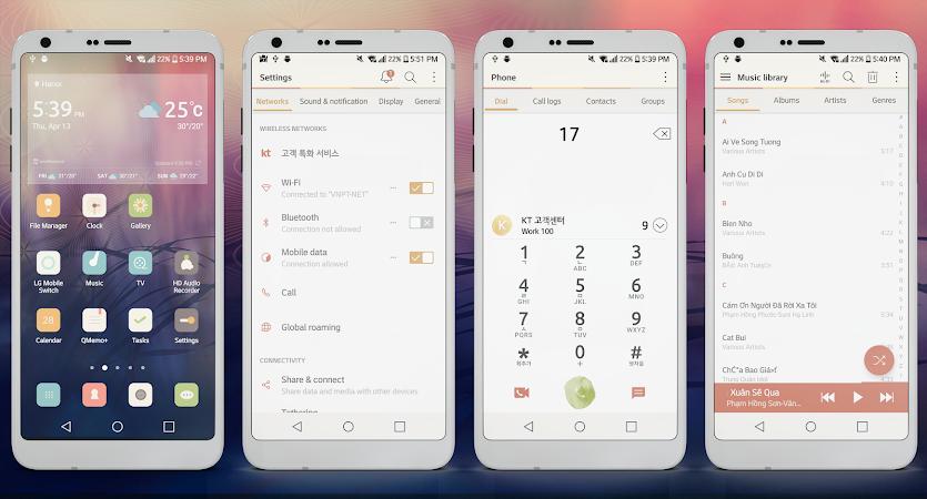 Retro Theme for LG G6 V20 & G5 v2.1