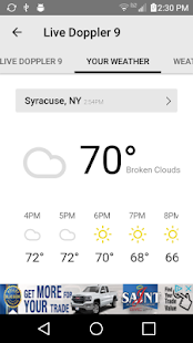 Traffic From WSYR Syracuse Android Apps On Google Play - Syracuse doppler