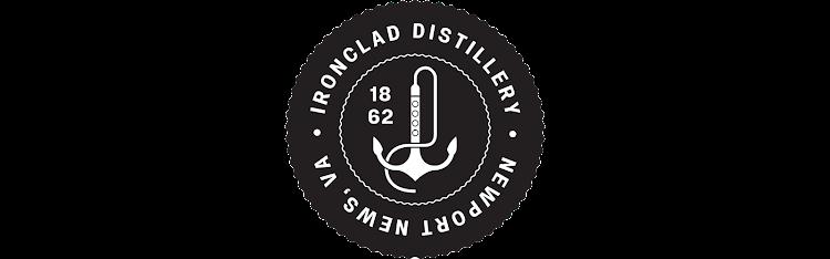 Logo for Ironclad Bourbon Whiskey