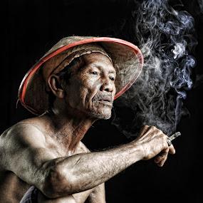 by Ahay Gart - People Portraits of Men ( <script src=, senior citizen )