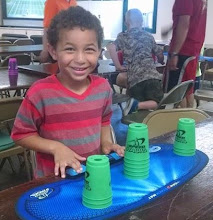 Photo: Cup Stacking