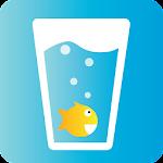 Drink Water Aquarium Icon
