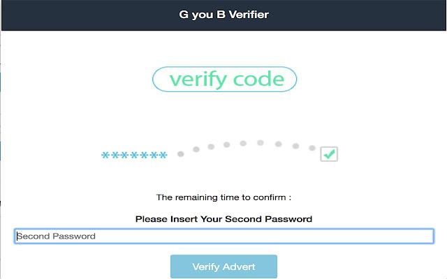 G you B Verifier