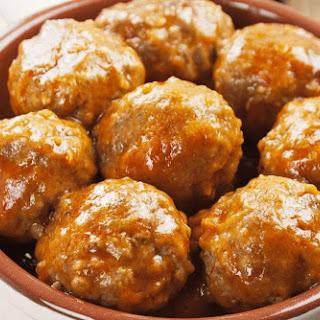 Brown Rice Porcupine Meatballs.