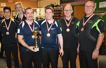 Photo: Doppel Herren LL – die Sieger