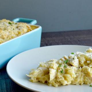 Cheesy Chicken Artichoke Casserole Recipe