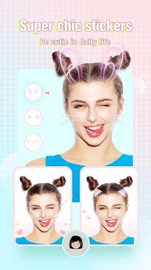 Camera360: Selfie Photo Editor with Funny Sticker screenshot for Android