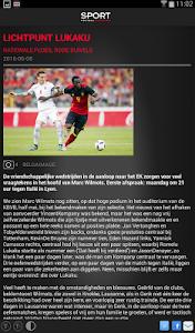 Sport/Voetbalmagazine HD screenshot 6