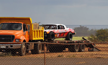 Photo: Uh, the dirt oval ain't happening!