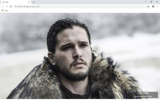 Jon Snow New Tab & Wallpapers Collection