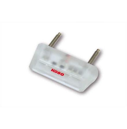 Mini led-registeringsskyltsbelysning