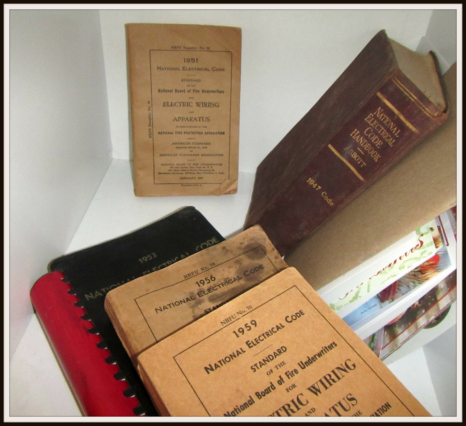 When men were men and sparkies played by the sparks ncw home nec code books 1959 to 1947 keyboard keysfo Images