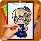 Learn How to Draw Chibi Anime icon