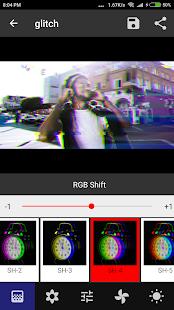 Onetap Glitch - Fotoeditor Screenshot