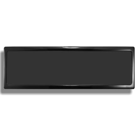 DEMCiflex magnetisk filter 4x120mm, rektangulær, sort