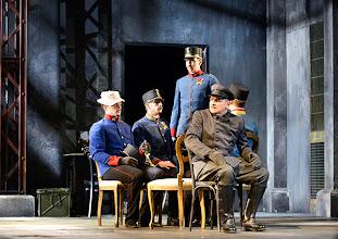 Photo: WIEN/ Theater in der Josefstadt: DIE SCHÜSSE VON SARAJEVO von Milan Dor und Stephan Lack. Premiere 3. April 2014. Inszenierung:  Herbert Föttinger. Foto: Barbara Zeininger