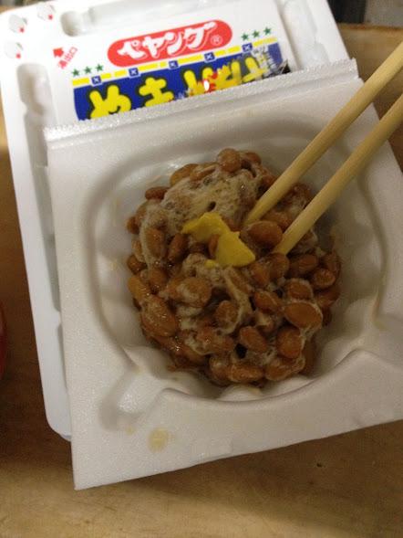 ペヤング 納豆