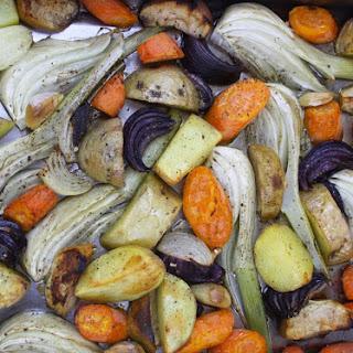 Roasted Winter Vegetables.