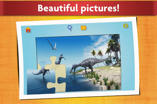 Dinosaurs Jigsaw Puzzles Game - Kids & Adults apktram screenshots 5