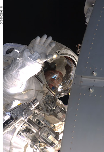 Bowen during EVA 4