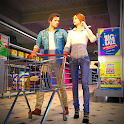Virtual Mother Shopping Mall - Supermarket Games icon