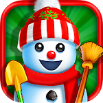 Christmas Snowman Maker Icon
