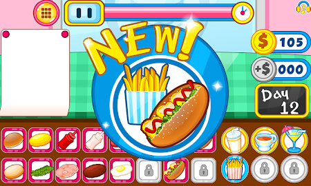 Burger shop fast food 1.0.5 screenshot 2088689