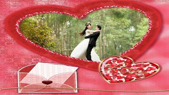 Honeymoon Lover Photo Frames screenshot