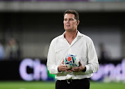 South Africa head coach Rassie Erasmus is on the brink of leading the Springboks to Rugby World Cup glory.