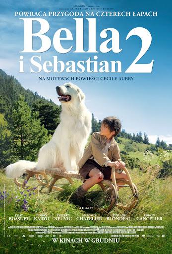 Polski plakat filmu 'Bella i Sebastian 2'