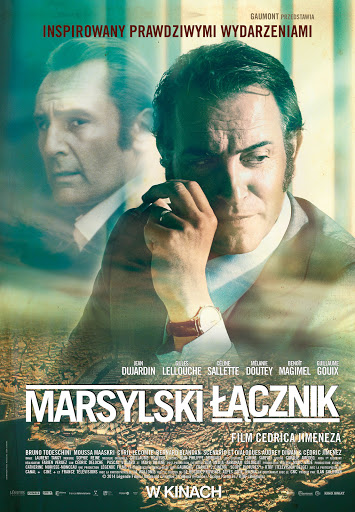 Polski plakat filmu 'Marsylski Łącznik'