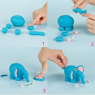 clay art ideas step by step - náhled