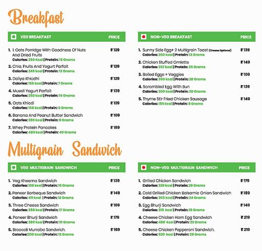 Healthy House menu 7