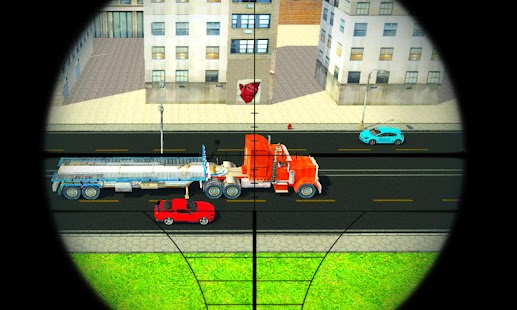 Real sniper traffic shooter 3D - náhled