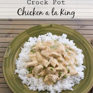 Crock Pot Chicken a la King