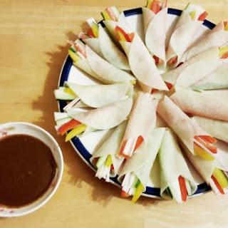 Korean Radish Wraps (Mu Ssam Mari)
