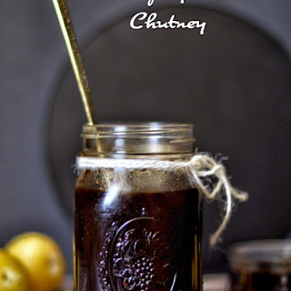 Sweet and Spicy Plum Chutney.