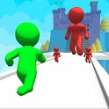 Giant Clash 3D - Join Color Run Race Rush Games icon