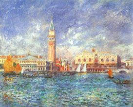 """Photo: Pierre-Auguste Renoir, """"Il Palazzo dei Dogi"""" (1881)"""