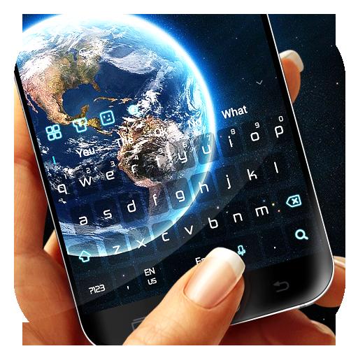 Starry Earth Keyboard