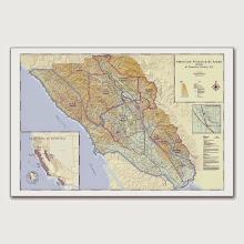 Photo: Sonoma County AVA Maps here: http://www.everyvine.com/buy-wine-region-maps/sonoma-maps/