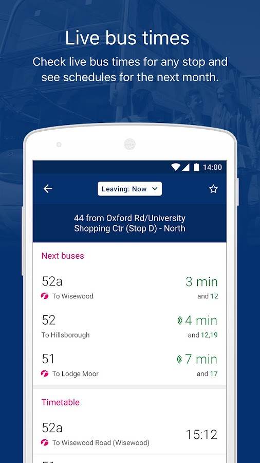First Bus - Bus travel & times- screenshot