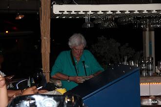 Photo: Roberto LU2FA tomando un trago