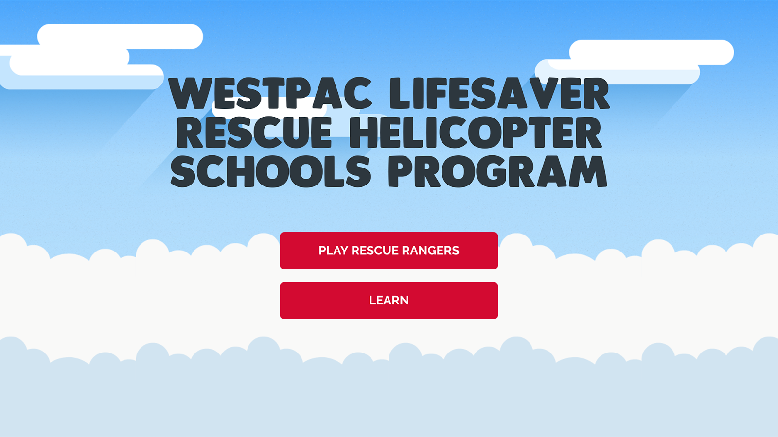 Westpac Schools Program- screenshot